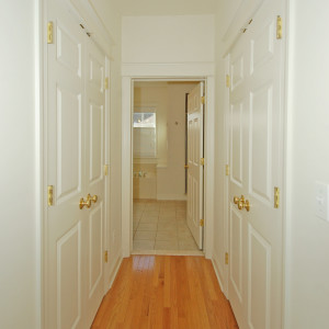 Master Closets, Leading to Master Bath