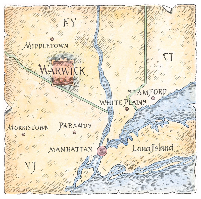 Warwick Ny Map Location – Warwick Grove Warwick Ny Map